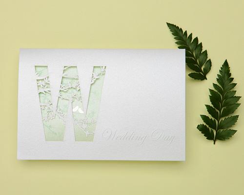結婚式招待状(手作りキット) ナチュラル メイン画像
