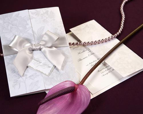 結婚式招待状(手作りキット) ギフトGY(グレー) メイン画像