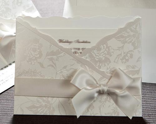 結婚式招待状(手作りキット) ジャパネスクW(ホワイト) メイン画像