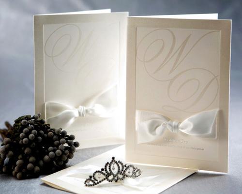 結婚式招待状(手作りキット) ミュゲA メイン画像