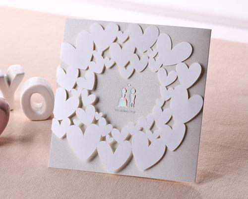 結婚式招待状(手作りキット) ベリーベリーハッピー メイン画像