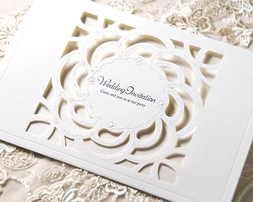 結婚式招待状(手作りキット ...