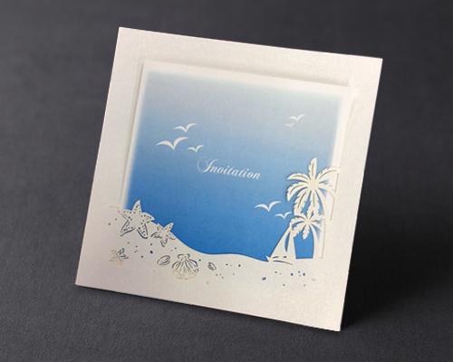 結婚式招待状(手作りキット) プラージュA メイン画像