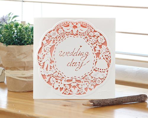 結婚式招待状(手作りキット) ラマージュA メイン画像