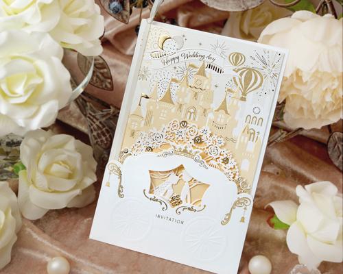 結婚式招待状(手作りキット) ファンファーレ メイン画像