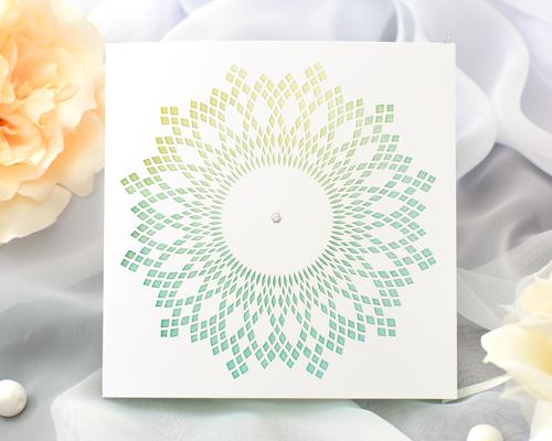 結婚式招待状(手作りキット) クリスタルA メイン画像