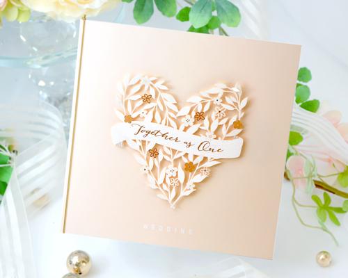 結婚式招待状(手作りキット) ボヌールB メイン画像