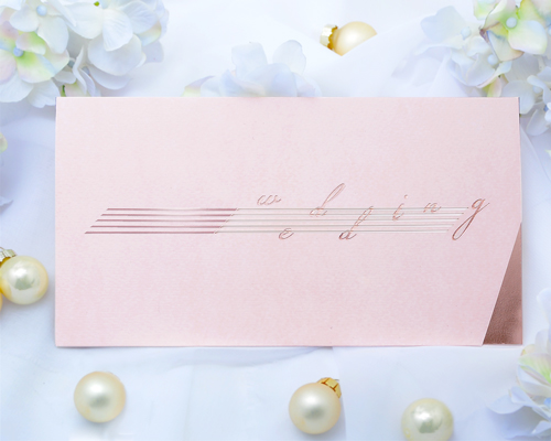 結婚式招待状(手作りキット) ノワールA メイン画像