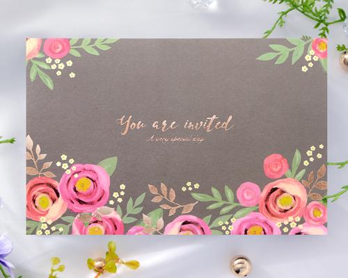 結婚式招待状(手作りキット) ブロッサムP メイン画像