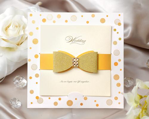 結婚式招待状(手作りキット) ポルカ メイン画像