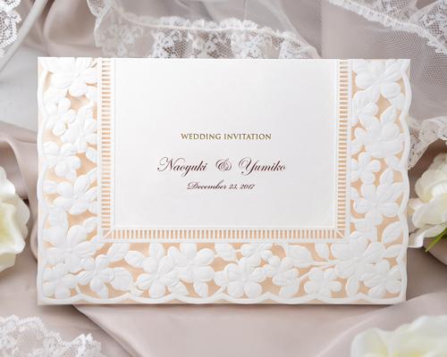 結婚式招待状(手作りキット) ジョリB【Name on Card タイプ】 メイン画像