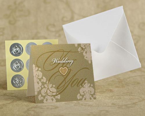 メッセージカード オリエンタルG (ゴールド) メイン画像