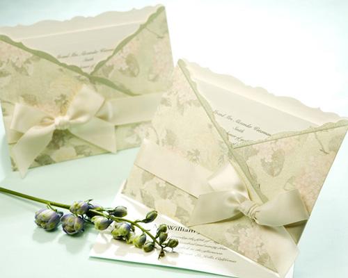 結婚式招待状(印刷込み) ジャパネスクGR(グリーン) メイン画像