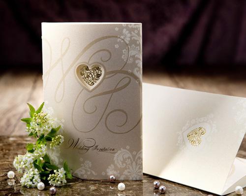 結婚式招待状(印刷込み) オリエンタルG(ゴールド) メイン画像