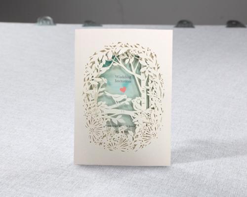 結婚式招待状(印刷込み) フォリアA メイン画像