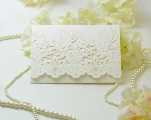 結婚式招待状(印刷込み) コットンキャンディA メイン画像