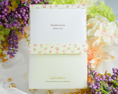 結婚式招待状(印刷込み) マイスイートA メイン画像