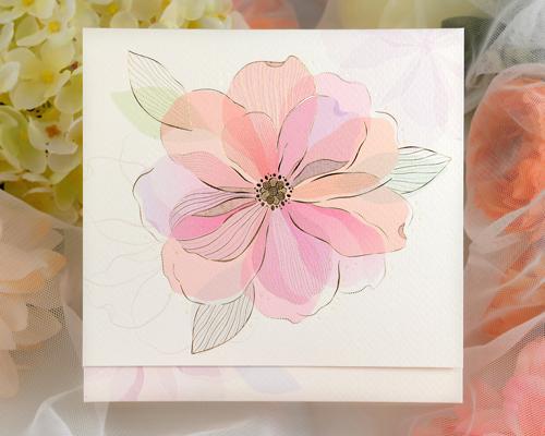 結婚式招待状(印刷込み) ラディアントP メイン画像