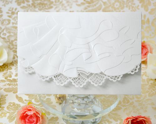結婚式招待状(印刷込み) トレーンB メイン画像