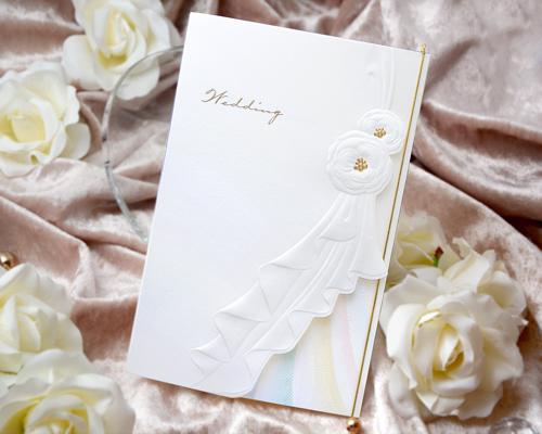 結婚式招待状(印刷込み) トレーンC メイン画像