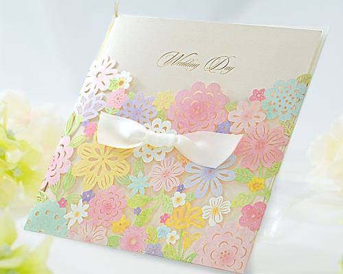 結婚式招待状(印刷込み) コローラ メイン画像