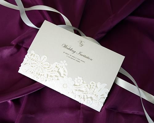 結婚式招待状(印刷込み) カリーナA【Name on Card タイプ】 メイン画像