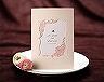 結婚式招待状(手作りキット) メモリーズP(ピンク) メイン画像