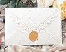結婚式招待状(手作りキット) レットルW(ホワイト) メイン画像