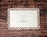 結婚式招待状(手作りキット) クロッシェA メイン画像