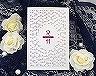 結婚式招待状(手作りキット) コートリーWR(ワインレッド)【Name on Card タイプ】 メイン画像