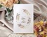 結婚式招待状(手作りキット) ノーブルBW(ブラウン)【Name on Card タイプ】 メイン画像