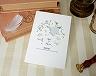 結婚式招待状(印刷込み) ネスレA【Name on Card タイプ】 メイン画像