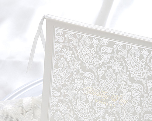 結婚式招待状(手作りキット) オリエンタルSV(シルバー) サポート画像1 (拡大)