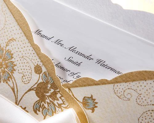 結婚式招待状(手作りキット) ジャパネスクBE(ベージュ) サポート画像1 (拡大)