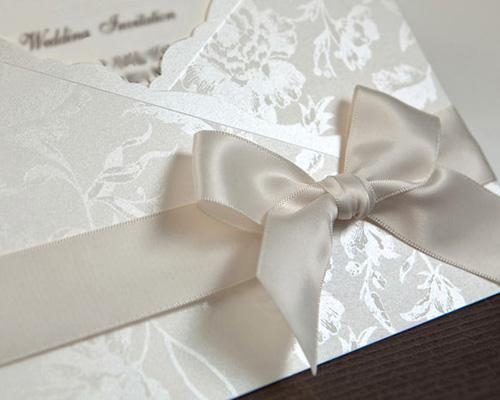 結婚式招待状(手作りキット) ジャパネスクW(ホワイト) サポート画像1 (拡大)