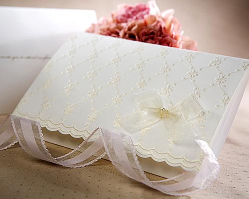 結婚式招待状(手作りキット) ブローダリーC サポート画像1 (拡大)