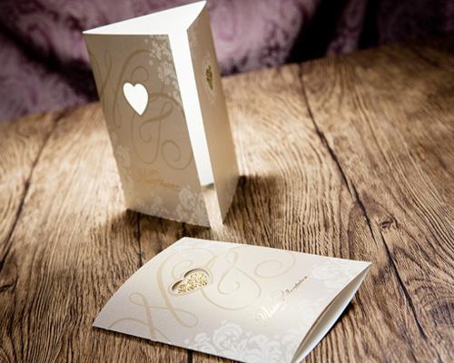結婚式招待状(手作りキット) オリエンタルG(ゴールド) サポート画像1 (拡大)