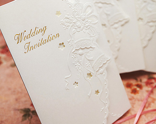 結婚式招待状(手作りキット) マリッジベル サポート画像1 (拡大)