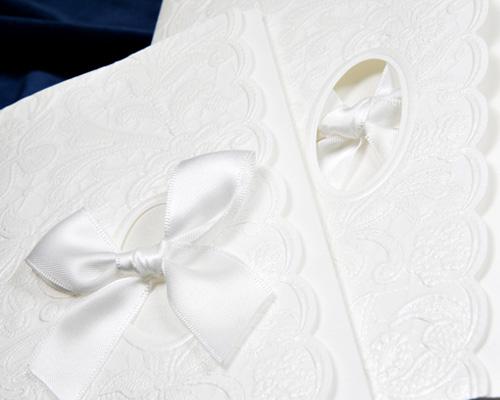 結婚式招待状(手作りキット) マリエE サポート画像1 (拡大)
