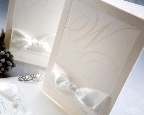 結婚式招待状(手作りキット) ミュゲA サポート画像1 (拡大)