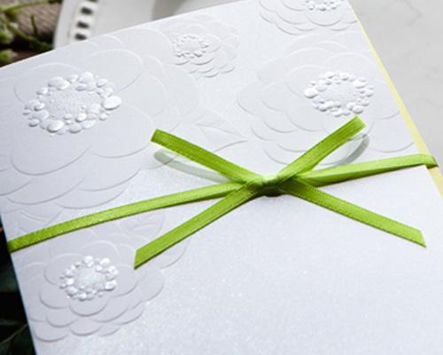 結婚式招待状(手作りキット) マカロンA サポート画像1 (拡大)