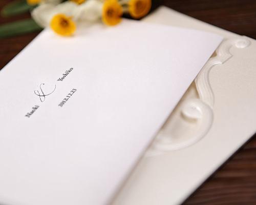 結婚式招待状(手作りキット) エレガンスB サポート画像1 (拡大)