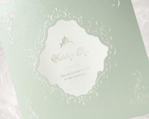 結婚式招待状(手作りキット) ヴェール サポート画像1 (拡大)