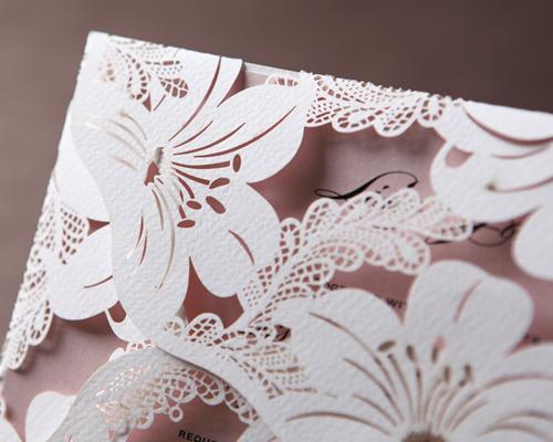 結婚式招待状(手作りキット) シャルム サポート画像1 (拡大)
