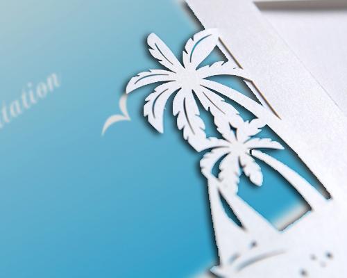 結婚式招待状(手作りキット) プラージュA サポート画像1 (拡大)