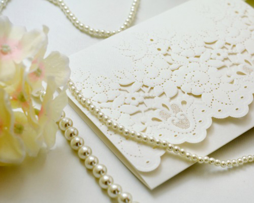 結婚式招待状(手作りキット) コットンキャンディA サポート画像1 (拡大)