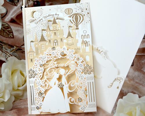 結婚式招待状(手作りキット) ファンファーレ サポート画像1 (拡大)