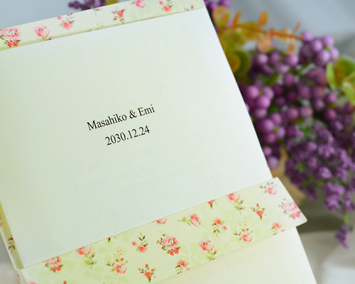 結婚式招待状(手作りキット) マイスイートA サポート画像1 (拡大)