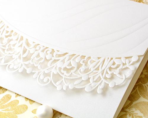 結婚式招待状(手作りキット) トレーンA サポート画像1 (拡大)