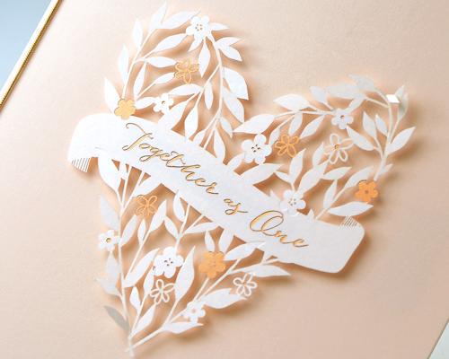 結婚式招待状(手作りキット) ボヌールB サポート画像1 (拡大)
